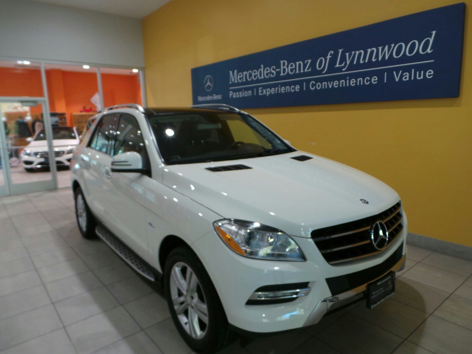 certified pre owned 2012 mercedes benz m class ml350 4matic