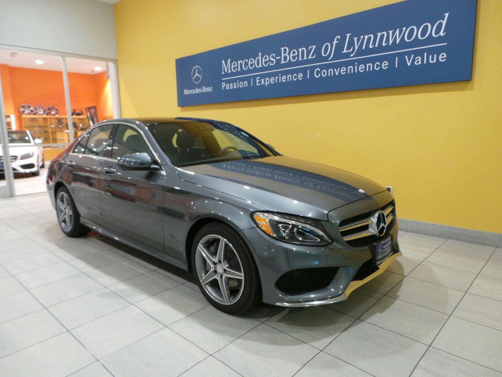 New 2017 mercedes benz c class c300 4matic sedan in for Mercedes benz c class c300 4matic