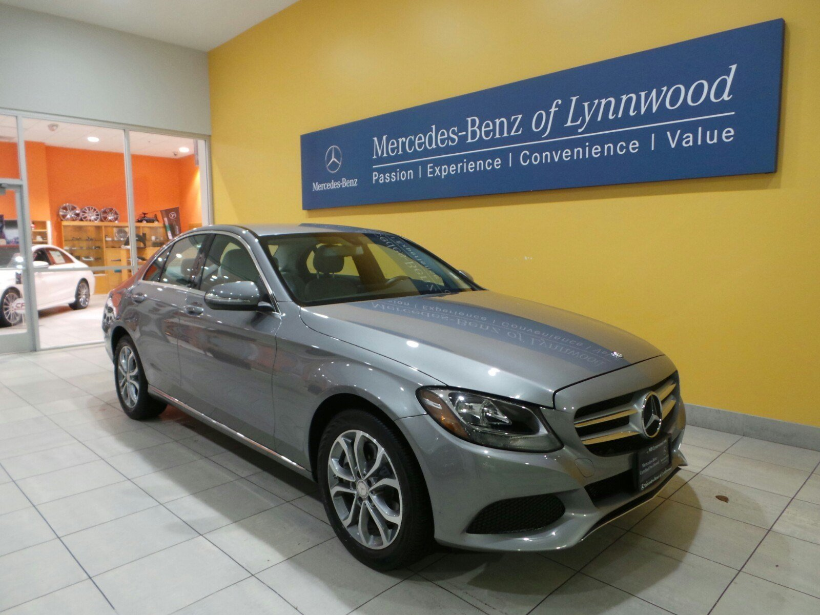 Certified pre owned 2015 mercedes benz c300 c300 sedan in for Certified pre owned mercedes benz