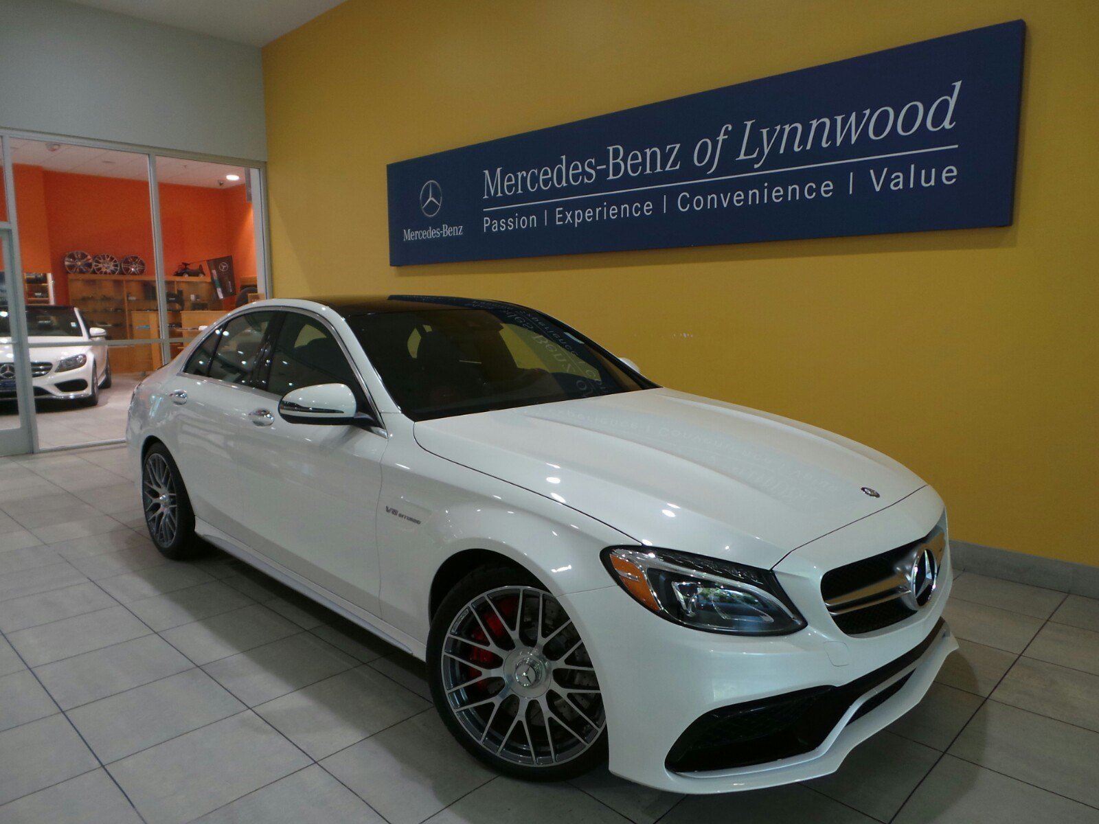 Pre owned 2017 mercedes benz c class amg c 63 s 4dr car for Pre owned mercedes benz s class