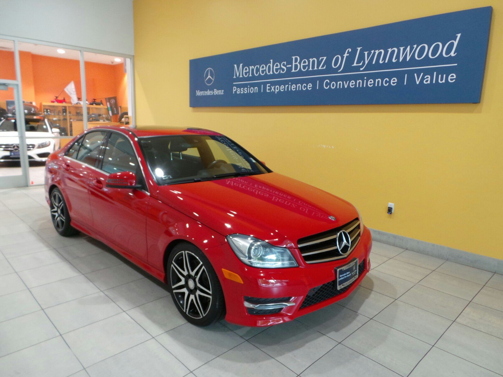 Certified pre owned 2013 mercedes benz c class c300 sport for Mercedes benz c class pre owned