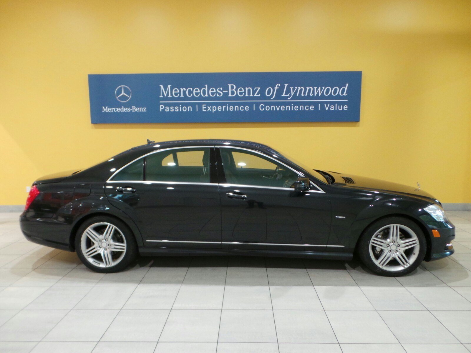 Certified pre owned 2012 mercedes benz s class s550 4matic for Pre owned mercedes benz s class