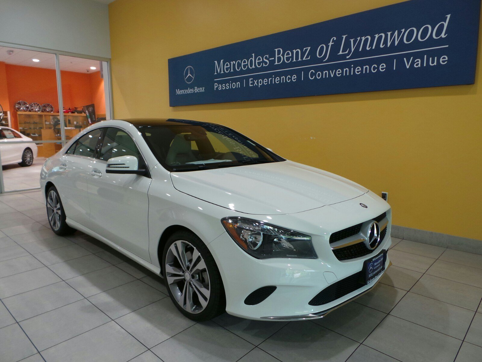 New 2017 mercedes benz cla cla250 coupe coupe in lynnwood for Mercedes benz cla coupe 2017
