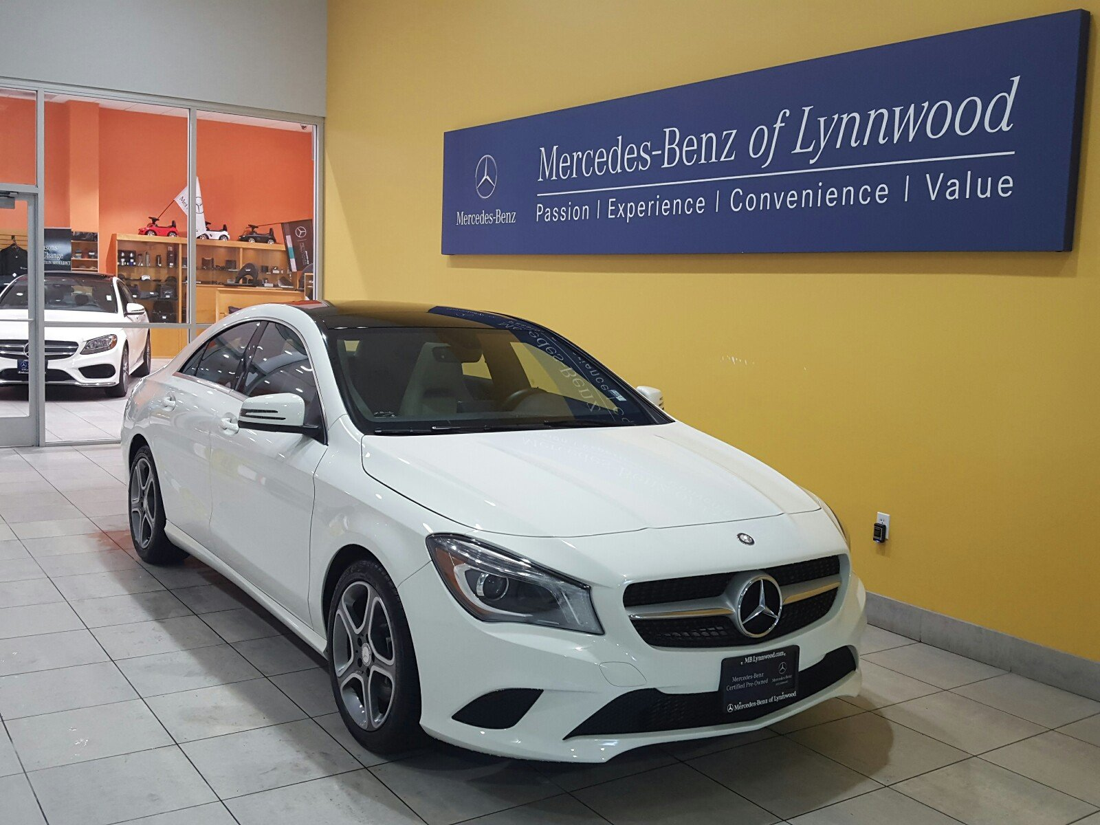 certified pre owned 2014 mercedes benz cla cla250 4matic coupe in lynnwood l3602p mercedes. Black Bedroom Furniture Sets. Home Design Ideas