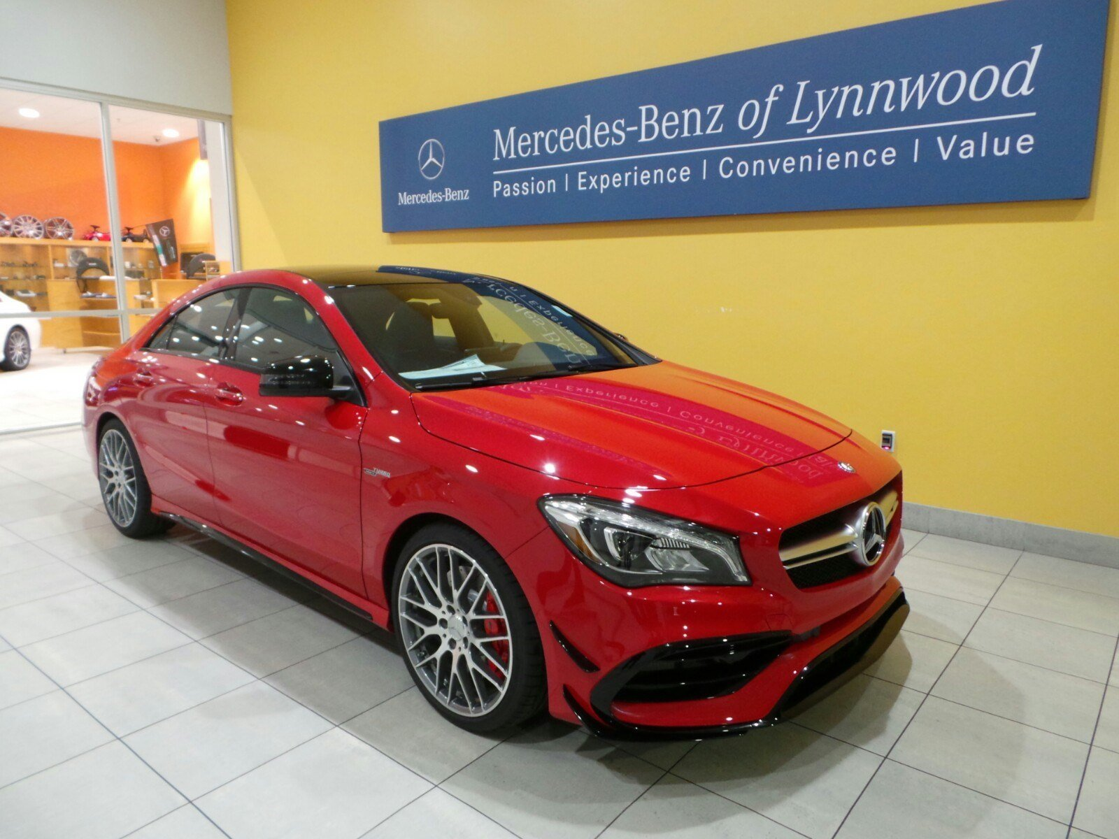 pre owned 2017 mercedes benz cla cla 45 amg coupe coupe in lynnwood 27311 mercedes benz of. Black Bedroom Furniture Sets. Home Design Ideas